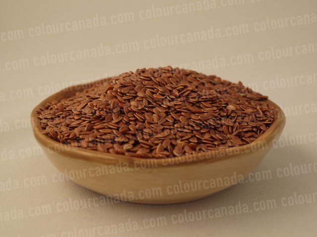 Flax Seeds in a Bowl | Cheap Stock Photo