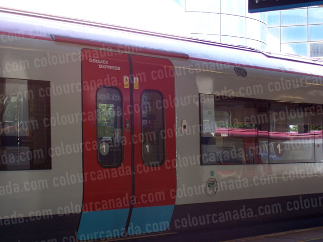 Gatwick Express Train | Cheap Stock Photo