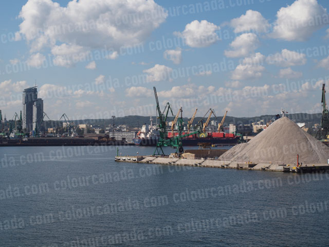 Shipping Port Gdansk, Poland | Cheap Stock Photo