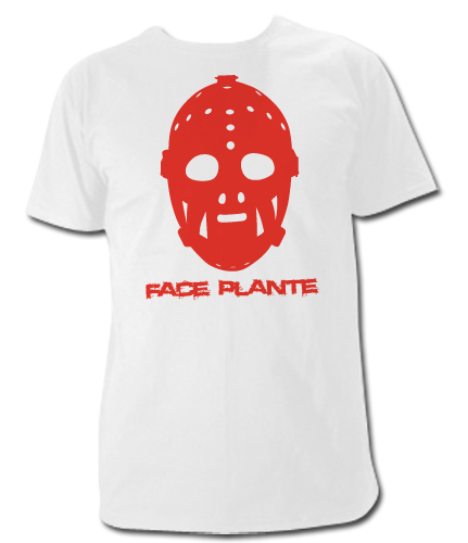 Jacque Plante Goalie Mask T Shirt