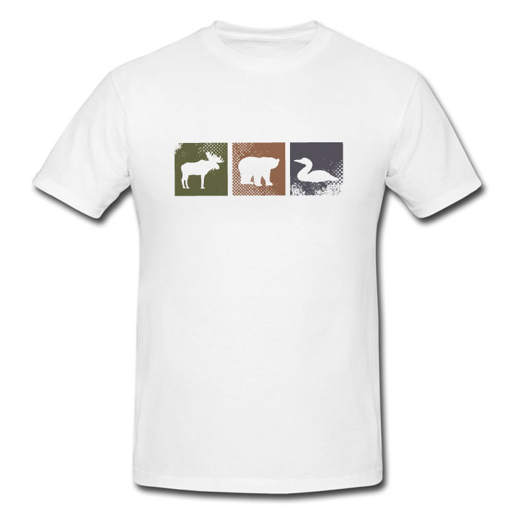 Canadian Animals T Shirt