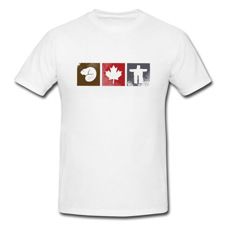 Canadian Icons T Shirt
