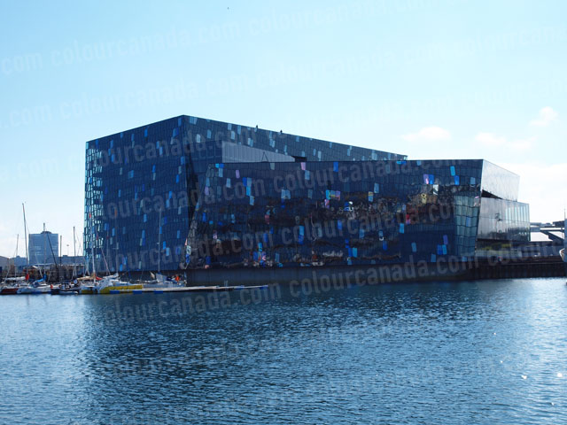 Harpa Opera House, Reykjavik, Iceland | Cheap Stock Photo
