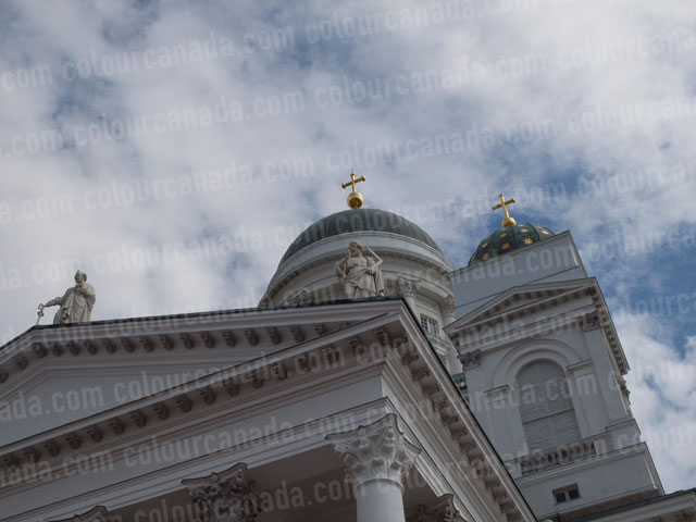 Helsinki Finland Cathedral | Cheap Stock Photo