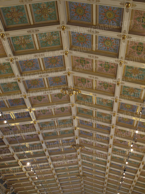 Hermitage Ceiling Detail (2) | Cheap Stock Photo