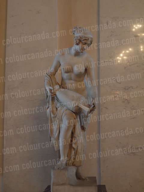 Hermitage Statue Woman with Urn | Cheap Stock Photo