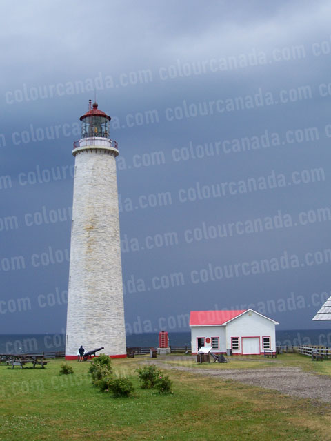 Gaspée Light House | Cheap Stock Photo