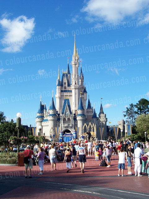 Magic Castle at Disney Land | Cheap Stock Photo