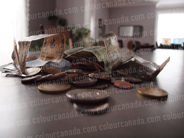 Money in a Pile (1) | Cheap Stock Photo