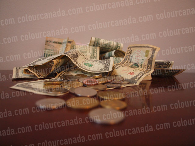 Money in a Pile (3) | Cheap Stock Photo