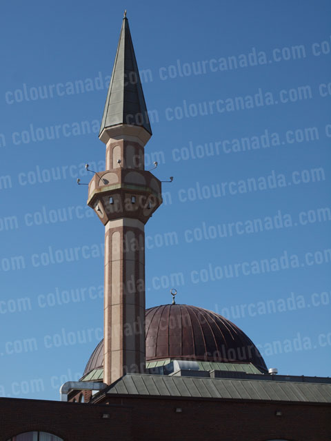 Mosque Mineret and Dome | Cheap Stock Photo