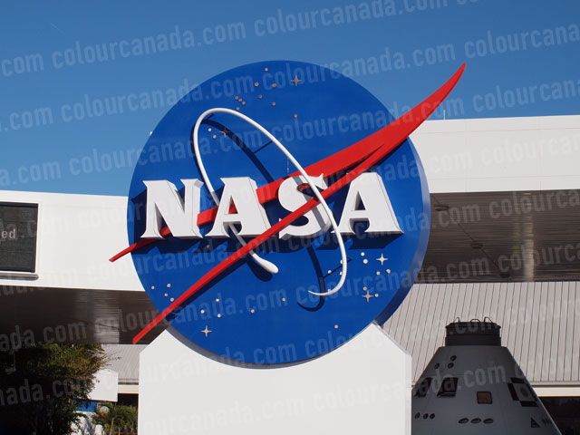 Nasa Sign Cape Canaveral Florida | Cheap Stock Photo