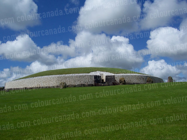 New Grange (2) 5000 Year Old Monument | Cheap Stock Photo