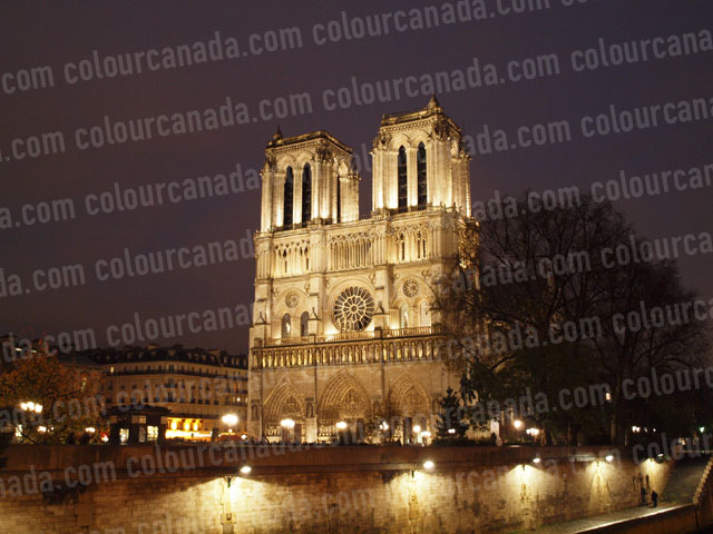 Notre Dame (2) Catherdal Paris France | Cheap Stock Photo