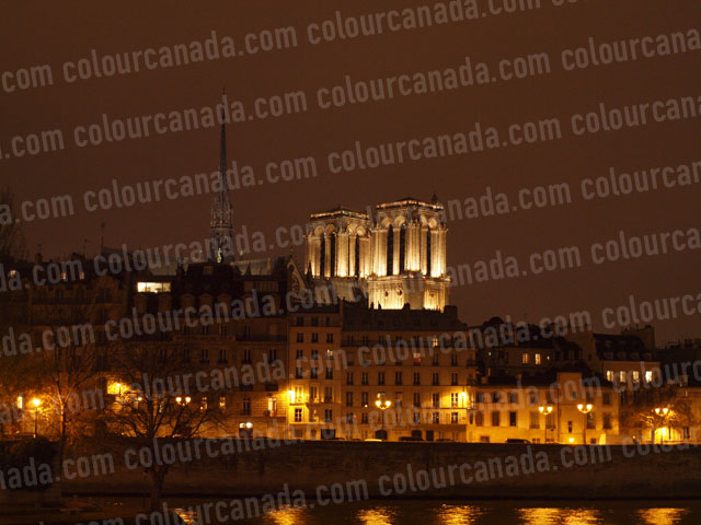 Notre Dame (3) Cathedral Paris France | Cheap Stock Photo