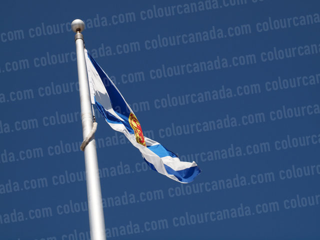 Nova Scotia's Flag (1) | Cheap Stock Photo