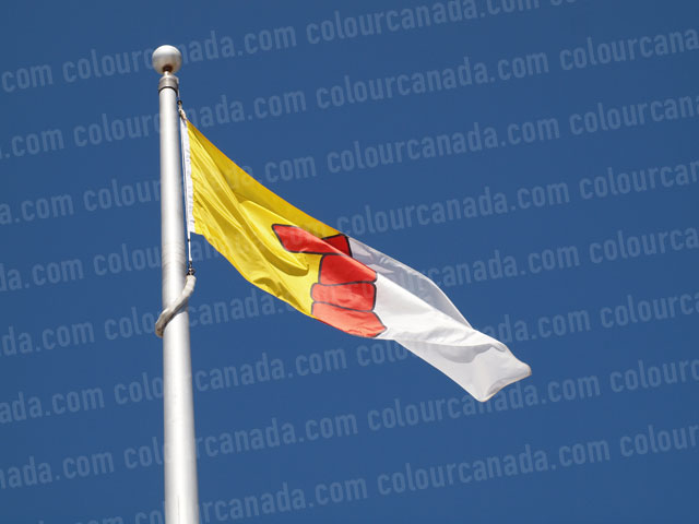 Nunavut's Flag (1) | Cheap Stock Photo