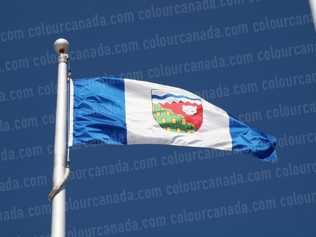 North West Territories' Flag (1) | Cheap Stock Photo