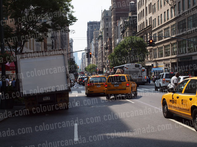 New York City Street Scape (2) | Cheap Stock Photo