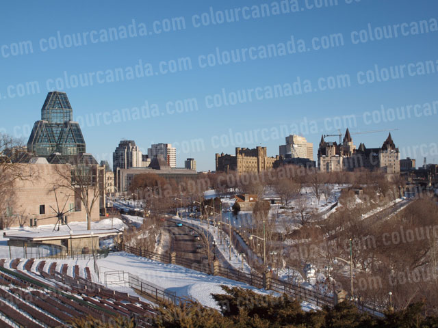 Ottawa Skyline (1) Winter | Cheap Stock Photo