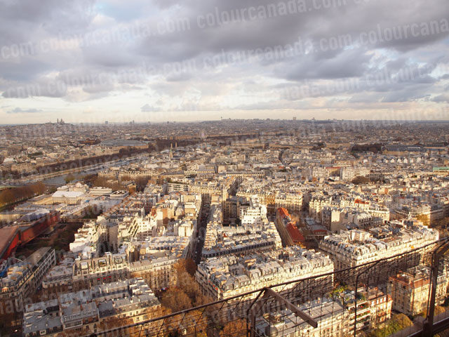 Paris (1) Skyline | Cheap Stock Photo
