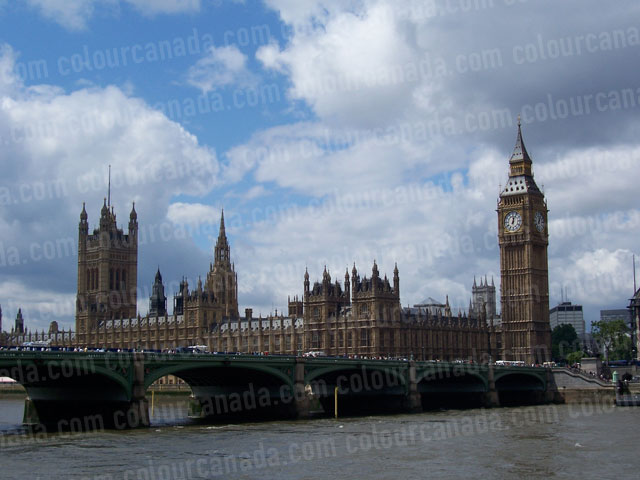 Parliament and Big Ben, London, England | Cheap Stock Photo