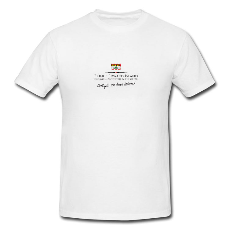 Prince Edward Island Funny Provincial Motto T Shirt
