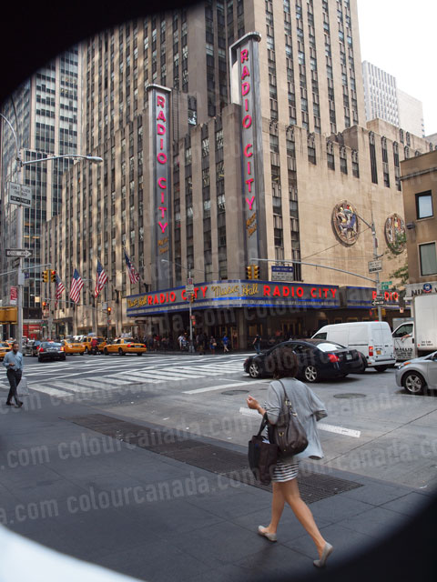 Radio City Music Hall New York City | Cheap Stock Photo