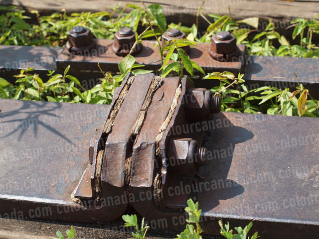 Railway (1) Rusted Bolts | Cheap Stock Photo