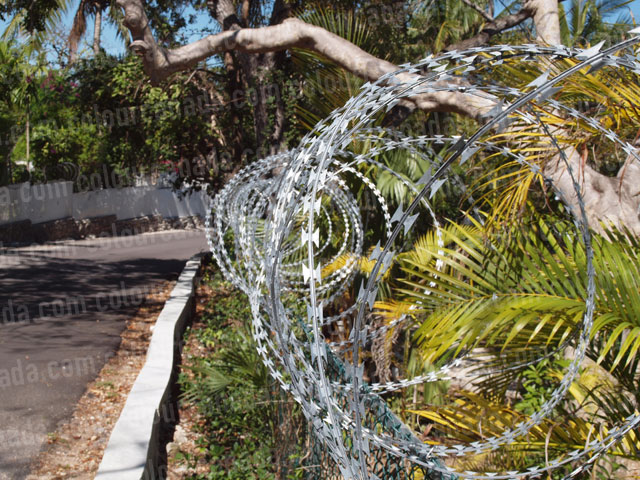 Razor Wire (2) | Cheap Stock Photo