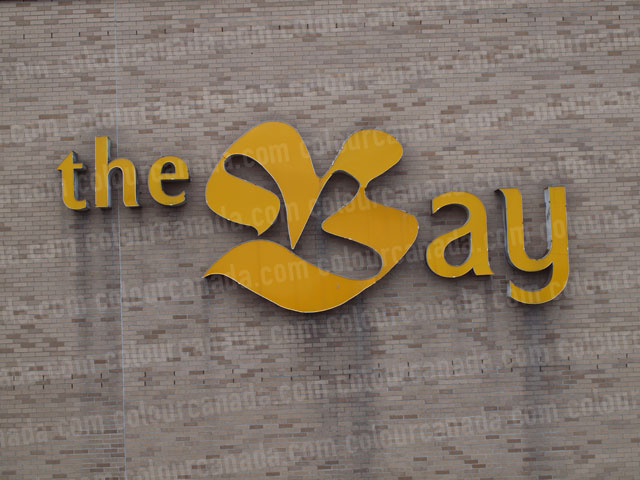 Sign The Bay on Brick | High Res Cheap Stock Photo
