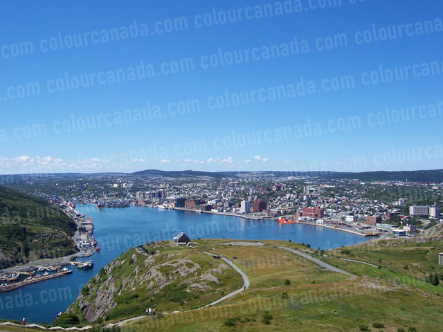 St. John's Harbour, Newfoundland | Cheap Stock Photo