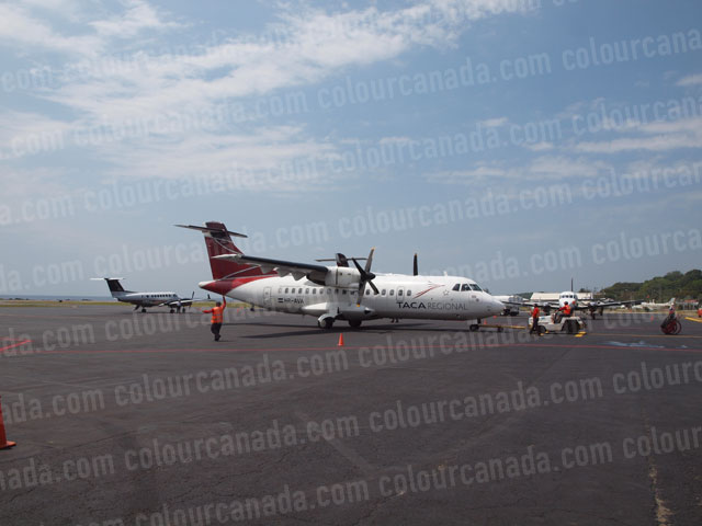 TACA ATR 42 Turbo Prop | Cheap Stock Photo