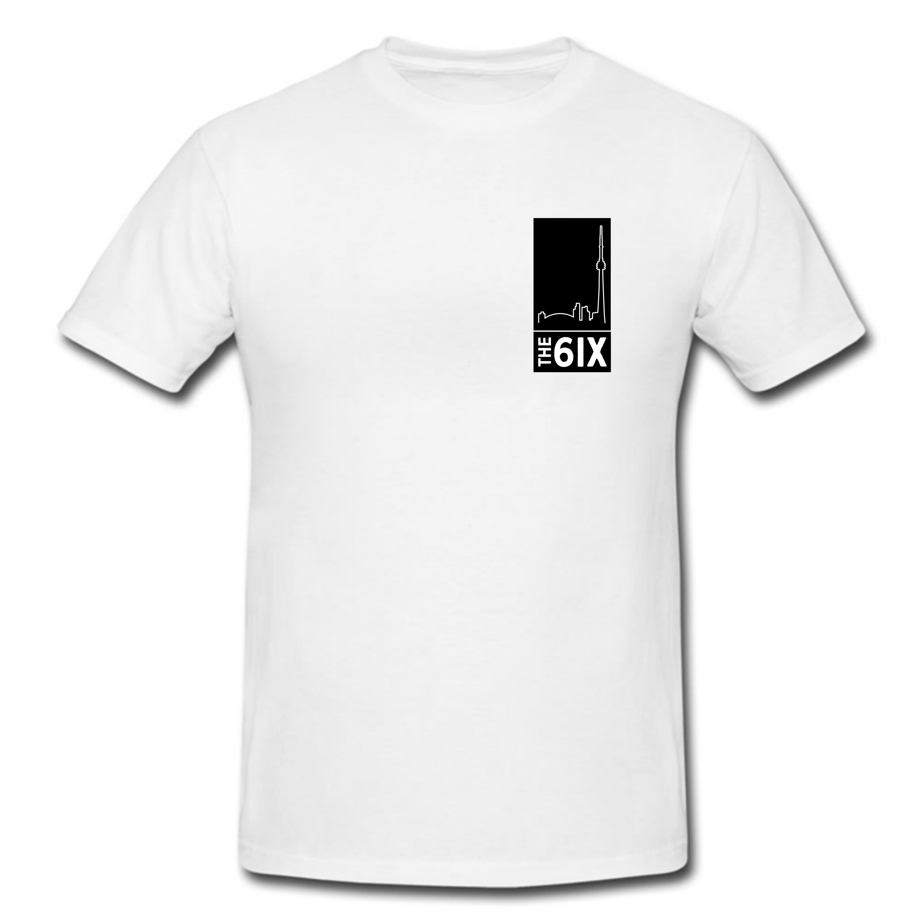 The 6ix Toronto T Shirt in White or Black