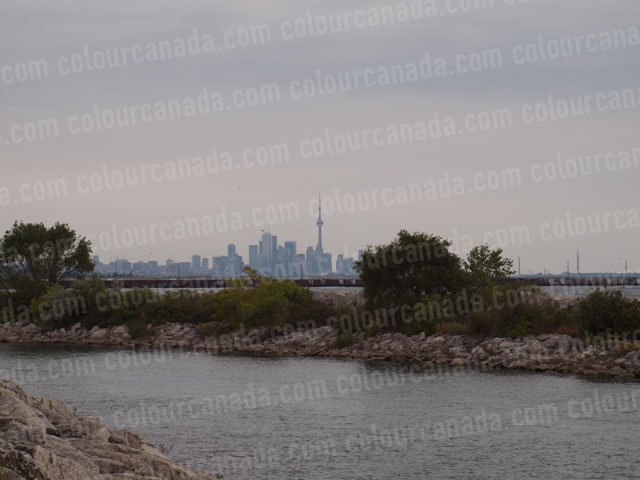 Toronto's Skyline from Port Credit | Cheap Stock Photo