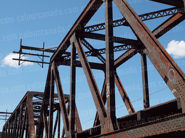 Train Bridge (3) Side View | Cheap Stock Photo