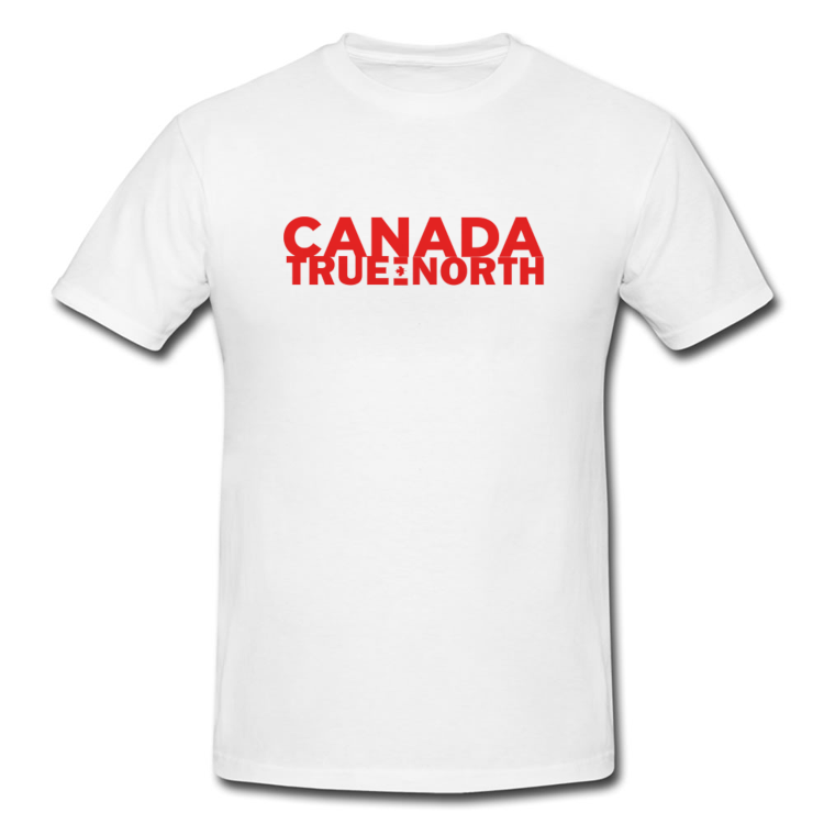 Canada True North Large Wordmark T Shirt