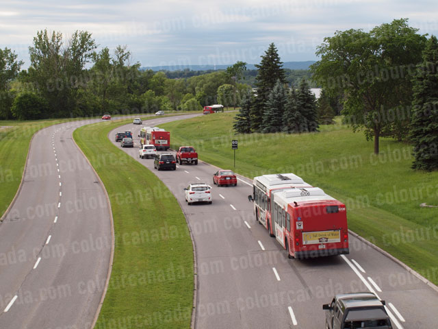 Two Lane Road with Traffic | Cheap Stock Photo