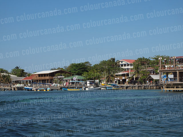 West End Waterfront Roatan | Cheap Stock Photo
