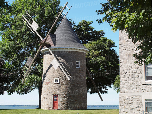Windmill by the Water | Cheap Stock Photo