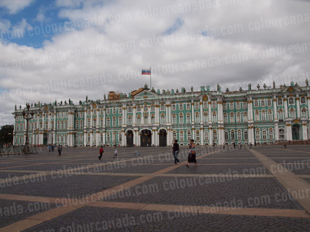 Winter Palace, Hermitage, St. Petersburg | Cheap Stock Photo